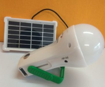 WAAREE PORTABLE SOLAR ONE LIGHT